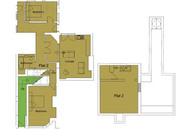 Thumbnail 2 bed flat to rent in Hill Street, Stoke On Trent