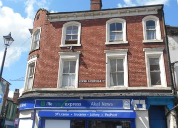 Thumbnail 1 bed flat to rent in Cross St, Willenhall