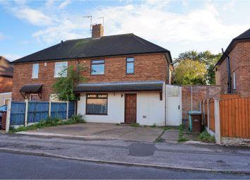 Thumbnail 3 bed semi-detached house for sale in Fernwood Crescent, Nottingham