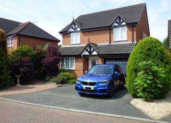 Thumbnail 4 bed detached house for sale in Telford Gardens, Wheelock, Sandbach