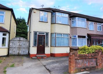 Thumbnail 3 bedroom end terrace house for sale in Amery Gardens, Romford