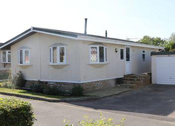 Thumbnail 2 bedroom mobile/park home for sale in Cudworth Park, Burnt Oak Lane, Newdigate, Dorking