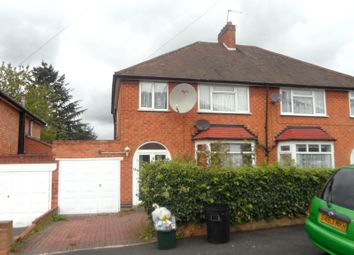 Thumbnail 3 bed semi-detached house to rent in Woodcroft Avenue, Handsworth Wood, Birmingham