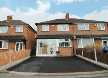 Thumbnail 3 bed semi-detached house for sale in Arundel Road, Maypole, Birmingham