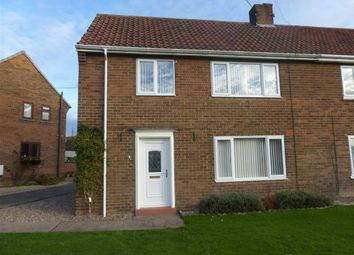 Thumbnail 3 bed semi-detached house to rent in Grange Drive, Harworth, Doncaster