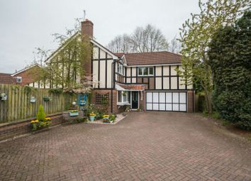 Thumbnail 4 bed detached house for sale in Severn Close, Altrincham