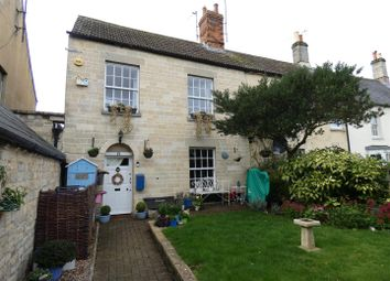Thumbnail End terrace house for sale in The Green, Calne