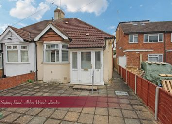 Thumbnail 2 bed bungalow for sale in Sydney Road, Abbey Wood