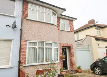 Thumbnail 3 bed end terrace house to rent in Thurlow Gardens, Ilford, Essex