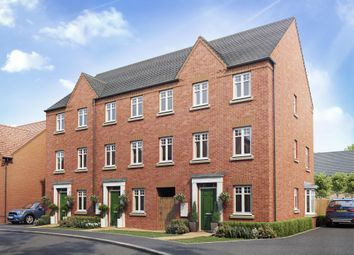 "Thumbnail 4 bed terraced house for sale in ""Seagrave"" at Warkton Lane, Barton Seagrave, Kettering"