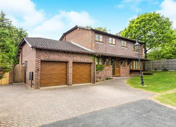 Thumbnail 4 bed detached house for sale in Broadmeadows Lane, Waterlooville