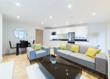 Thumbnail 2 bed flat to rent in Langan House, 14 Keymer Place, Canary Wharf, London