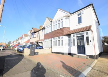 Thumbnail 3 bed end terrace house to rent in Trehearn Road, Ilford