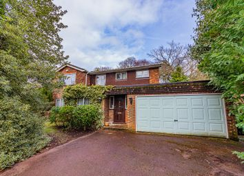Thumbnail 4 bed detached house for sale in Larchwood Glade, Camberley, Surrey