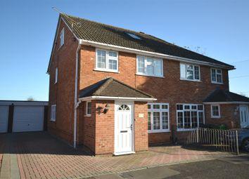 Thumbnail 4 bedroom semi-detached house for sale in Hastings Close, Basingstoke