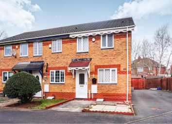 Thumbnail 2 bed end terrace house for sale in Brook Close, Birmingham