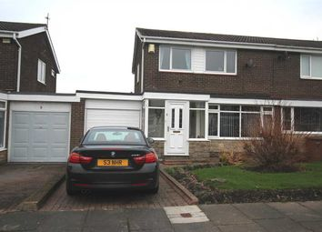 Thumbnail 3 bed semi-detached house for sale in Whinfell Close, Southfield Lea, Cramlington