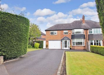 Thumbnail 4 bed semi-detached house for sale in Haseley Road, Solihull