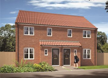 "Thumbnail 3 bed semi-detached house for sale in ""The Masefield"" at Carsons Drive, Great Cornard, Sudbury"