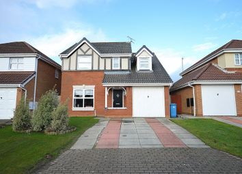 Thumbnail 4 bed detached house for sale in Battersea Court, Widnes