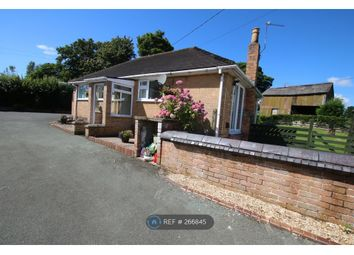 Thumbnail 2 bed bungalow to rent in Hall Lane, Wrexham