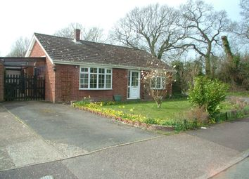 Thumbnail 3 bed property for sale in Grove Close, Newton Flotman, Norwich