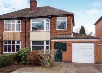 Thumbnail 3 bed semi-detached house for sale in Fosse Way, Syston, Leicester, Leicestershire