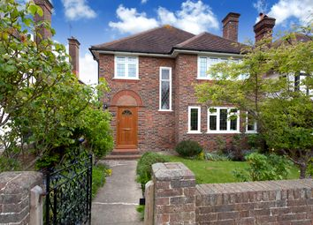 Thumbnail 4 bed detached house for sale in George V Avenue, Goring-By-Sea, Worthing