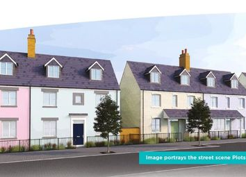 Thumbnail 4 bed semi-detached house for sale in Stret Uther Penndragon, Quintrell Road, Newquay, Cornwall