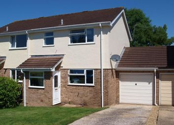 Thumbnail 3 bed semi-detached house for sale in Haydons Park, Honiton