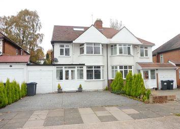 Thumbnail 4 bed semi-detached house for sale in Osmaston Road, Harborne, Birmingham