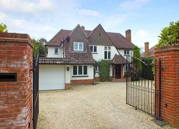 Thumbnail 5 bed detached house to rent in Park Avenue, Camberley, Surrey
