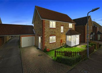 Thumbnail 3 bed detached house for sale in Constance Close, Broomfield, Chelmsford, Essex