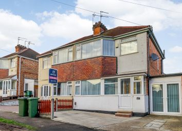 Thumbnail 3 bed semi-detached house for sale in Cleveleys Avenue, Leicester, Leicestershire