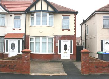 Thumbnail 3 bed semi-detached house to rent in Haddon Road, Bispham, Blackpool