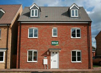 Thumbnail 4 bedroom detached house to rent in Cottier Drive, Littleport, Ely