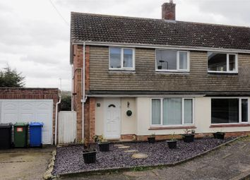 Thumbnail 3 bedroom semi-detached house for sale in Oak Way, Halesworth