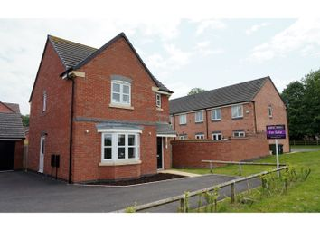 Thumbnail 3 bed detached house for sale in Boundary Close, Scraptoft