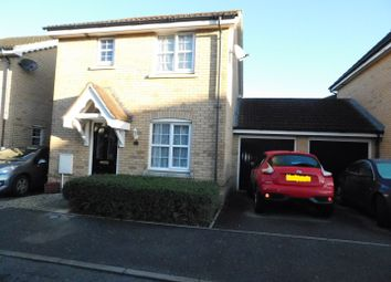 Thumbnail 3 bed link-detached house for sale in Robin Close, Stowmarket