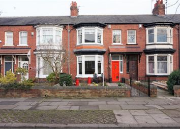 Thumbnail 3 bed terraced house for sale in Linden Grove, Linthorpe, Middlesbrough