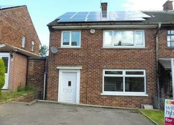 Thumbnail 3 bedroom semi-detached house for sale in Wood Road, Rotherham