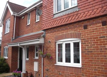 Thumbnail 3 bed terraced house to rent in Nicolson Close, Tangmere, Chichester