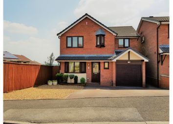 Thumbnail 4 bed detached house for sale in Slindon Close, Newcastle