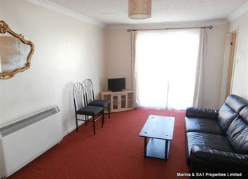 Thumbnail 1 bedroom flat to rent in Mannheim Quay, Maritime Quarter, Swansea