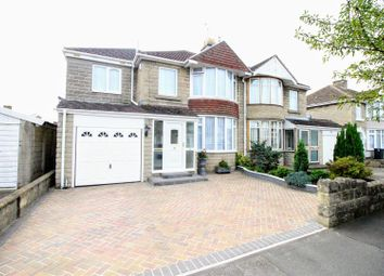Thumbnail 4 bedroom semi-detached house for sale in Collett Avenue, Rodbourne Cheney, Swindon