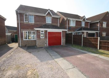 Thumbnail 3 bed detached house for sale in Lavender Close, Attleborough
