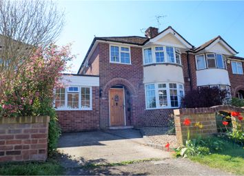 Thumbnail 3 bed semi-detached house for sale in Hemdean Road, Reading