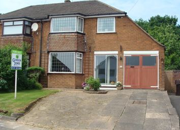 Thumbnail 3 bed semi-detached house for sale in Romsley Close, Rubery