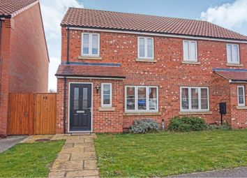 Thumbnail 3 bed semi-detached house for sale in Fenwick Road, Scartho