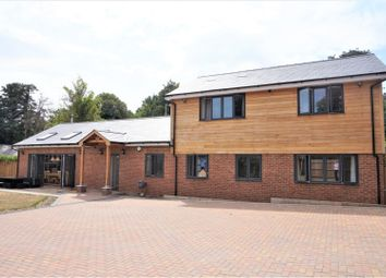 Thumbnail 4 bed detached house for sale in Newbury Road, Thatcham